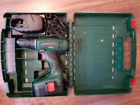 Cheap Bosch drill 18v for sale, hardly used