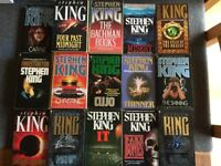 Stephen King & James Herbert Books For Sale