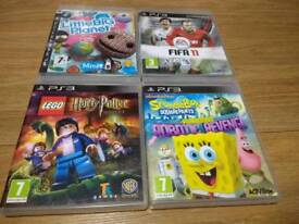PS3 4 GAMES BUNDLE FOR KIDS UK Delivery