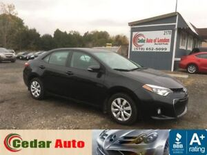 2014 Toyota Corolla S Backup Camera - Managers Special