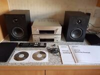 Fantastic excellent condition Denon DCD -F109 and DRA - F109 CD/Stereo Receiver with 2 x 65 w spkrs