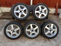 4x108 Alloy Wheels x5