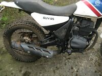 trail bike enduro cpi 125 cc 4 stroke v5 £400 runner. READ ADVERT NO SWAPS