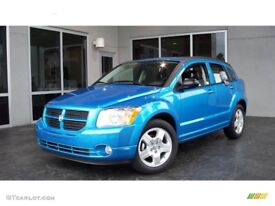 Sky blue Dodge Caliber for sale. Automatic. Petrol. Very spacious and comfy. 2009