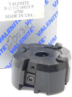 New Valenite Carbide Insert Face Mill 2-12 Diameter B2-12-4r-15p