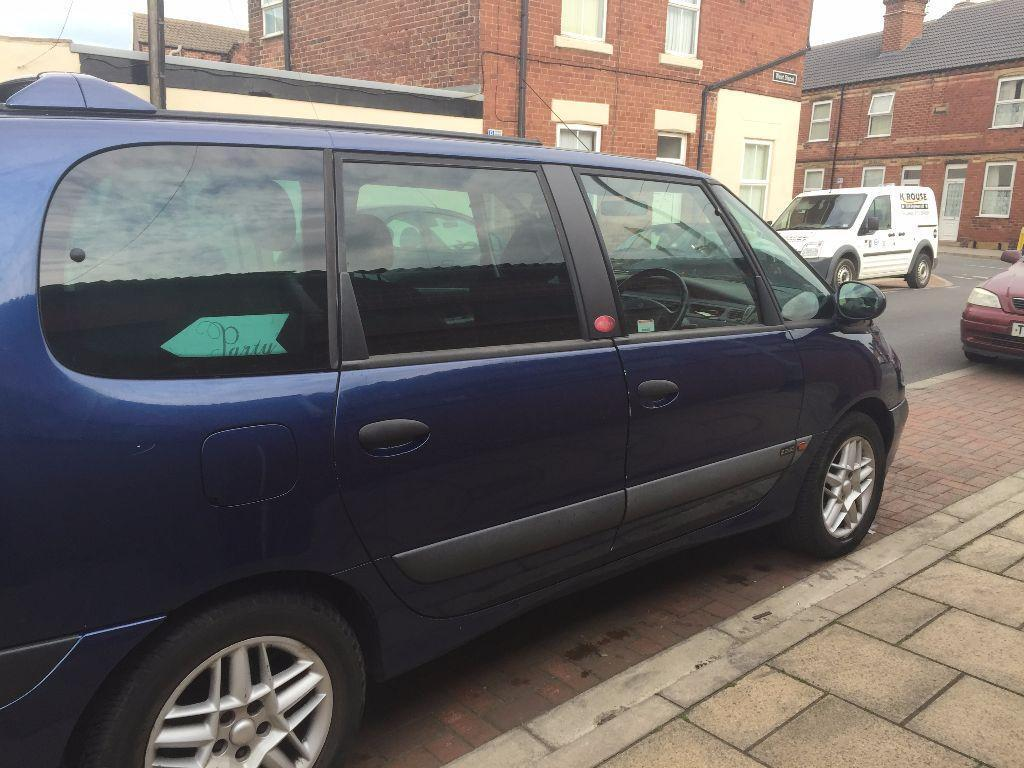 renault espace 2 2 dci mpv 7 seater diesel in upton west yorkshire gumtree. Black Bedroom Furniture Sets. Home Design Ideas
