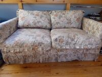 2-seat sofa bed. Cheap!