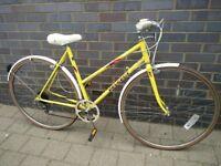 Splendid Vintage ladies Peugeot Monte Carlo City bike, 5gears,Lightweight Small 51cm frame.Mudguards