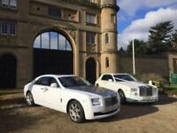 Rolls Royce Ghost hire Wolverhampton/Birmingham. Wedding car hire