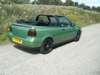 2001 VW GOLF 2.0 KARMANN CONVERTIBLE NEW MOT VERY CLEAN FAST FUN RELIABLE MODEL NO OFFERS