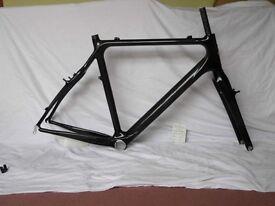 NEW full carbon Raleigh cyclocross bike frame 56cm - fiber fibre - CX