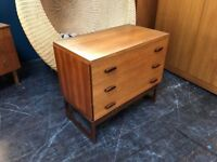 Quadrille Chest of Drawers by G Plan. Retro Vintage Mid Century