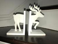 Reindeer book holder
