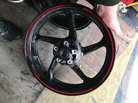 Kawasaki ZX10r front and rear wheels