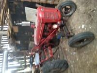 tractor, plows, patato planter, discer