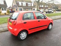Chevrolet Matiz Low miles New cambelt
