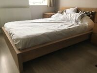 Bed frame for double bed. Perfect condition.