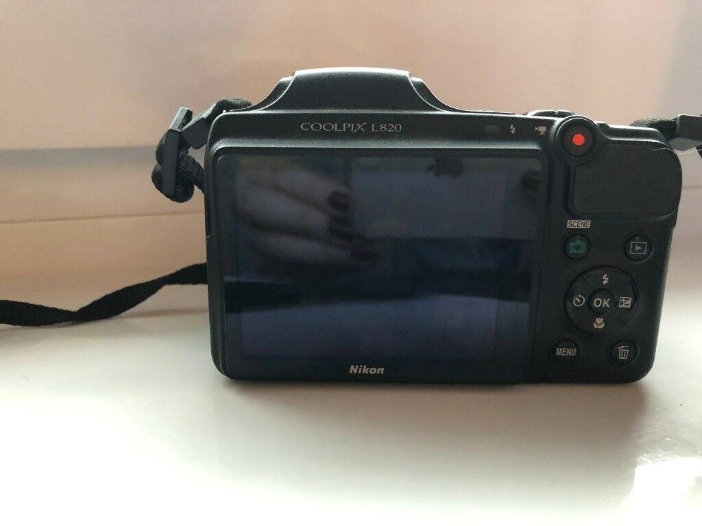 nikon coolpix l820 digital camera black in hengoed caerphilly