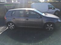 Vw golf 1.9 tdi diesel sport 5 door very light Damage not recorded 2 keys 2006 56 reg