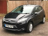 2011 (60) FORD FIESTA 1.4 TDCI EDGE ++77K ++SERVICE HISTORY++5 DOOR ++ONLY £20 ROAD TAX++