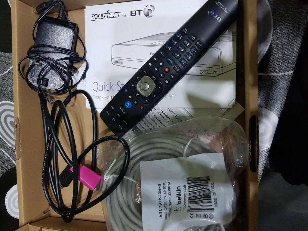 Bt Tv Box Wiring Ultra Hd Youview Uhd 4k Dtr T4000 1tb Freeview In