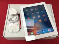 Apple iPad 2 64GB WiFi + Cellular, Unlocked, White Silver, WARRANTY, NO OFFERS