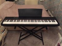 P-105 - portable, digital, weighted, 88 key piano