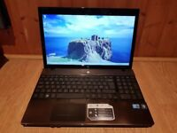 Perfect working order hp probook 4520s windows 7 500g hard drive 6g memory webcam