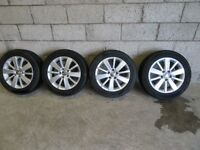 VOLKSWAGEN GOLF ALLOYS + TYRES -- CHOICE OF 4 X SETS --