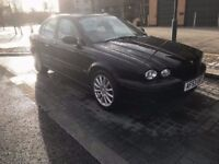 2003 jaguar x-type 2.5 v6 awd 4x4 snow car 4 wheel drive black with black leather