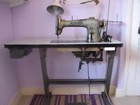 Old Industrial sewing machine