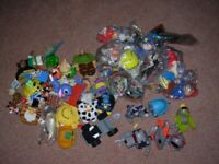 APPROX. 50-60 MCDONALDS TOYS, MOSTLY NEW