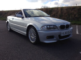 BMW 330ci Convertible Auto E46 2003 FSH