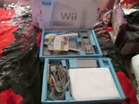 Nintendo Wii 8GB White Console boxed bundle with wii sports,instructions,wii remote,nunchuck