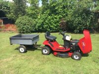 Toro Wheel Horse XL 320 Ride On Lawnmower & Trailer - Great Condition & Self Mulching