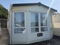 Carnaby Viscount 2 bedroom double glazing central heating 37x12 static caravan mobile home living