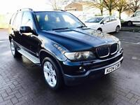 BMW X5 Sport D Auto,2004,3.0 Diesel, 88k miles,F.S.History,F.Leather,Mot, Drives Superb 3 M WARRANTY