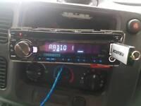 Kenwood car radio built-in DAB