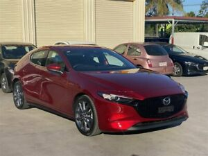 2020 Mazda 3 BP G25 GT Red 6 Speed Automatic Hatchback
