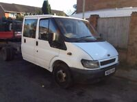ford transit chassis and cab