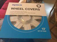 "Wheel covers set of 4. 13"""