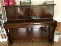 Upright Wooden Framed Piano