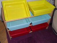 Storage unit for toys books etc
