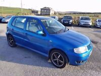 2000 VOLKSWAGEN POLO 1.4 TDI 5 DOOR HATCHBACK BLUE