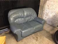 2-Seater Leather Sofa FREE