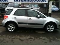 2006 SUZUKI SX4, 1 YEARS MOT NOW ONLY £1895