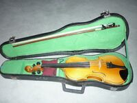 Half size 'improved' violin for 8 - 10 year old