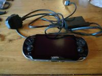 PlayStation Vita(Oled) wifi only + 16gb memory Card