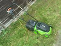 Challenge Corded Electric Lawnmower