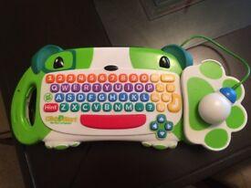 LeapFrog ClickStart My First Computer (Green)